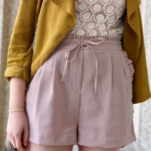 Dex taupe shorts